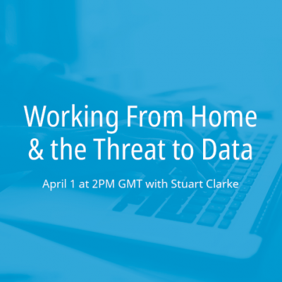 Working from Home and the Threat to Data
