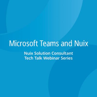 Microsoft Teams and Nuix – demonstration of possibly the most important connector in Nuix history