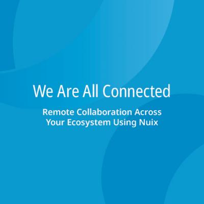 We Are All Connected: Remote Collaboration Across Your Ecosystem Using Nuix
